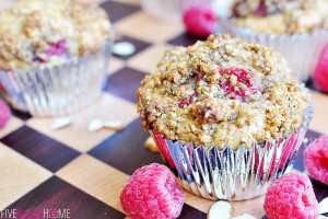 Raspberry-Almond-Praline-Muffins-by-Five-Heart-Home_closeup_700px